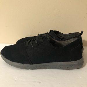 Toms Black Sneakers Men's Size 10.5